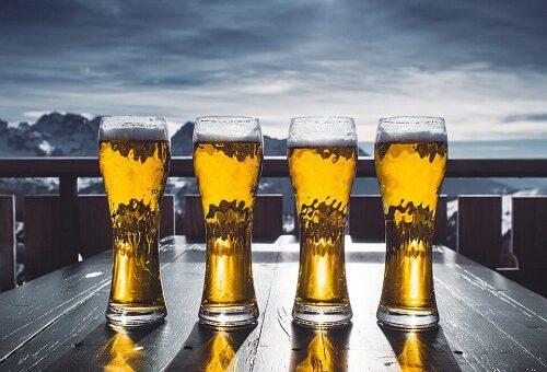 Rodzaje szklanek do piw